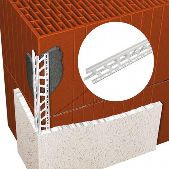 Profil de colt pentru tencuiala din plastic
